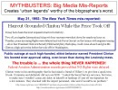 Mythbusting: Big Media Lies