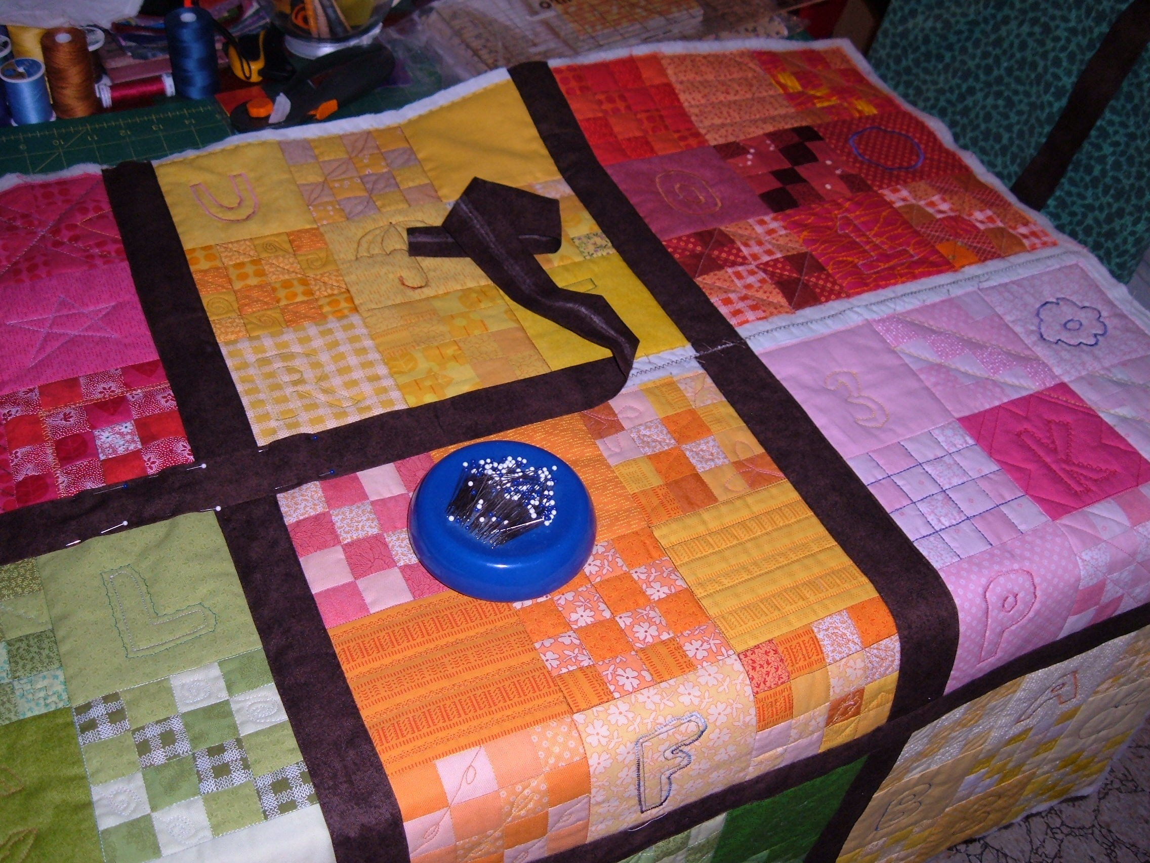 Quilt As You Go Project