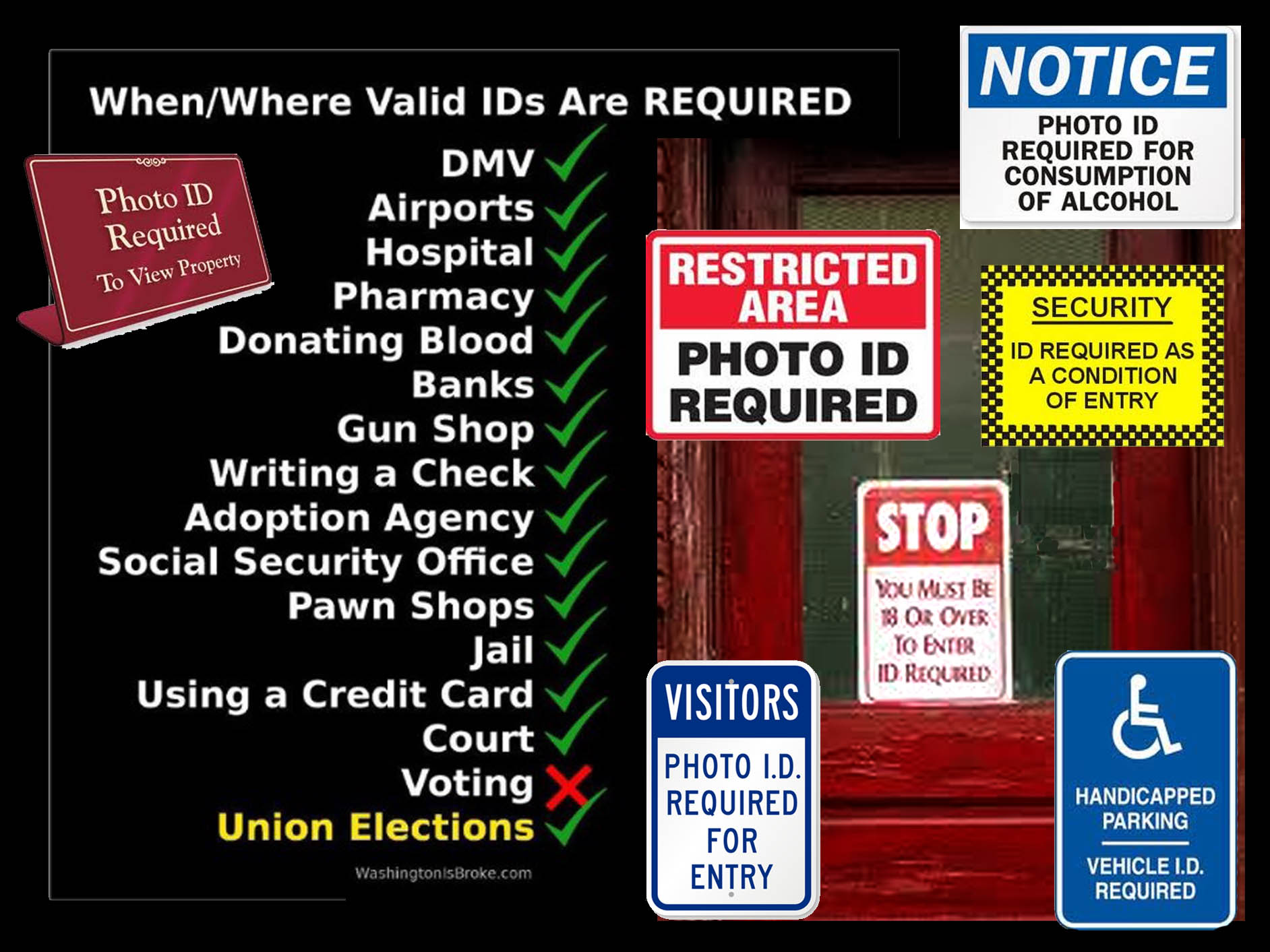 support voter id
