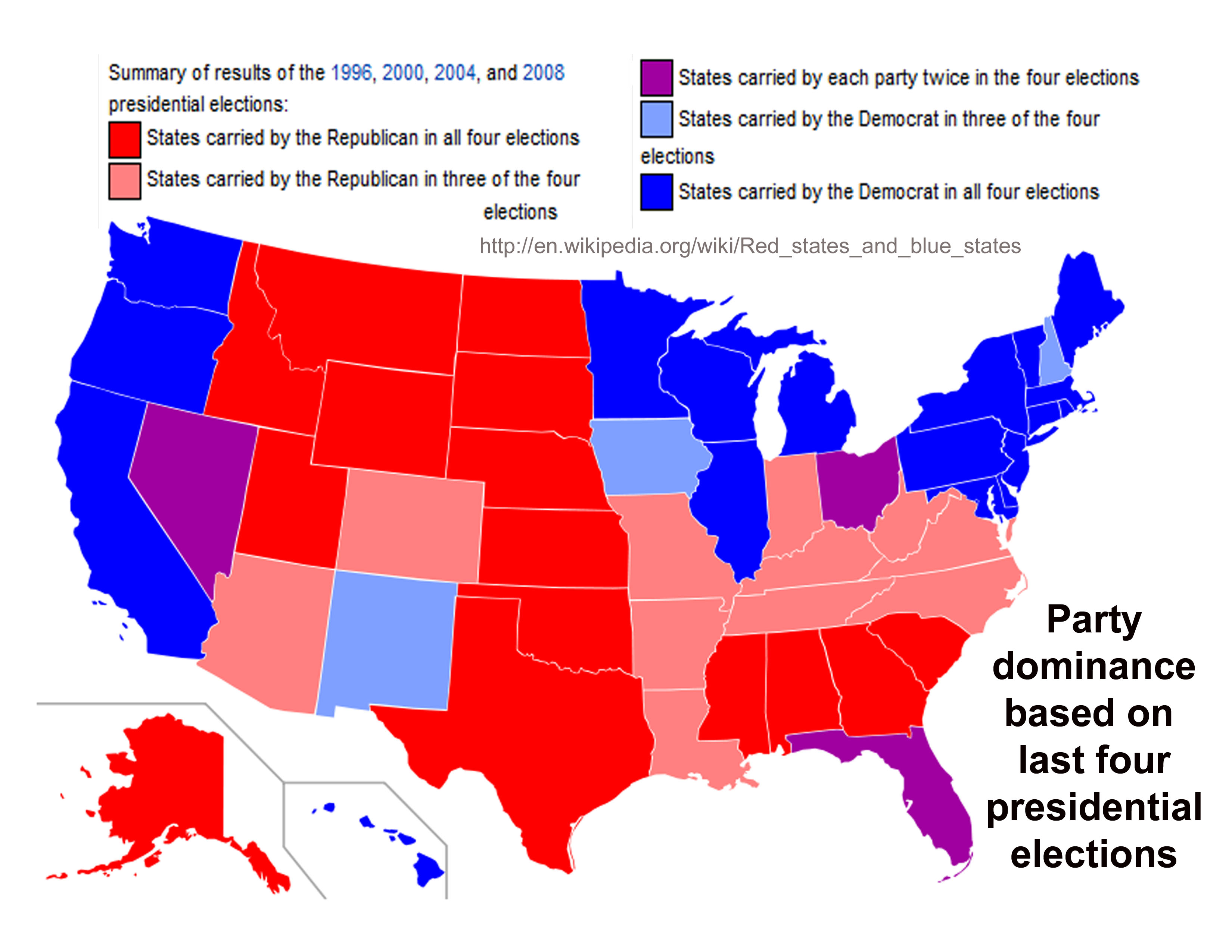 Political Party Strength In U S States Wikipedia Map Us Forwardxme - Us political party map