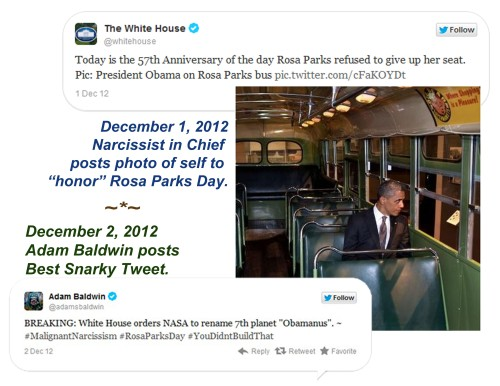 2012_12 01 BHO posts himself for RosaParksDay