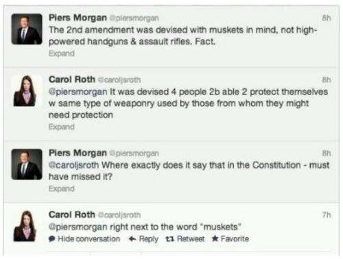 2012_12 04 Morgan vs Roth on 2d Amendment
