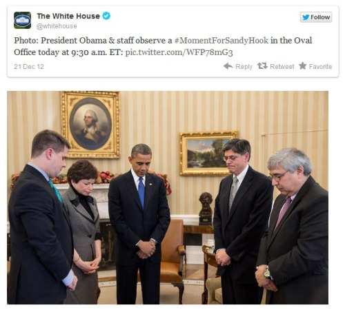 2012_12 21 White House tweets about Sandy Hook