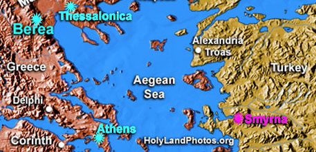 Acts 17 map