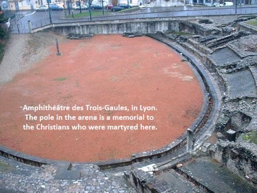 Amphithéâtre des Trois-Gaules in Lyon