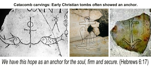 Anchors from catacombs