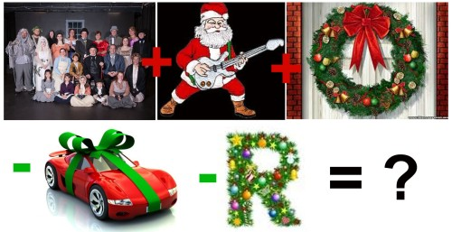 Christmas Rebus - stocking