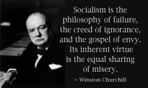 Churchill on Socialism
