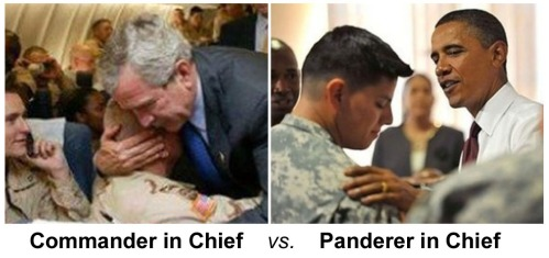 Commander in Chief vs Panderer in Chief