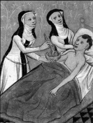 Nuns caring for sick