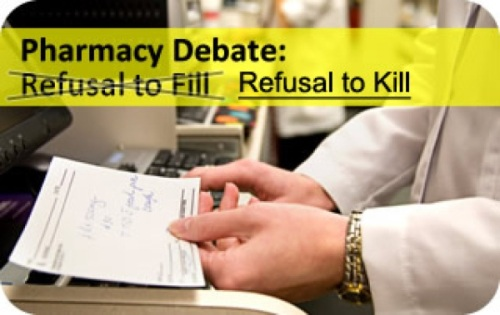 Pharmacist Refusal to kill