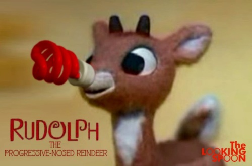 Rudolph the Progressive Nosed Reindeer