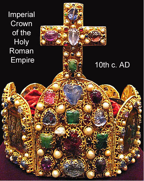 10th c Imperial crown of HREmpire