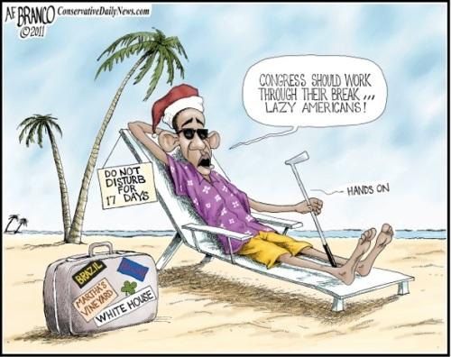 2012 Obama Vacays