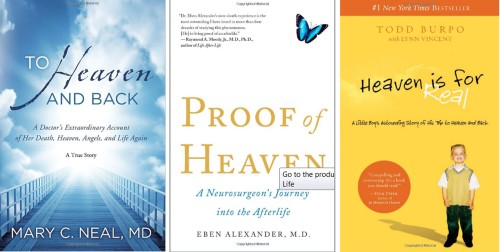 3 books about visiting Heaven