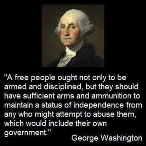 A free people - Geo Washington