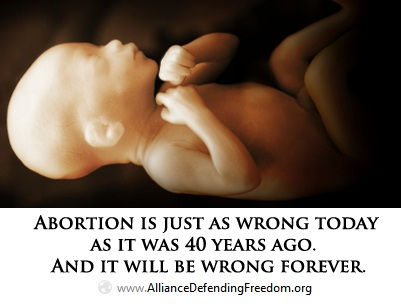 Abortion is wrong