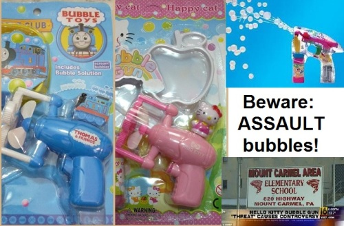 Beware assault bubbles