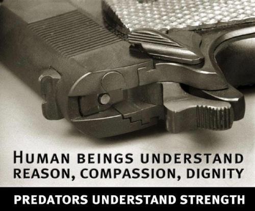 Human beings vs Predators