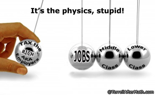 It's the physics, stupid