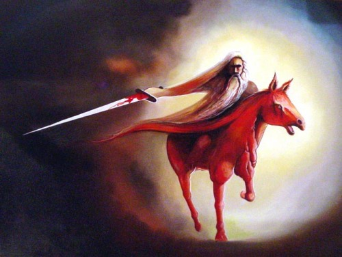 Red Horse of the Apocalypse by Peter Olsen