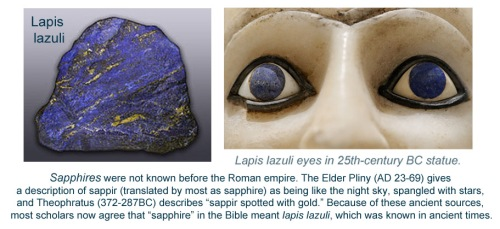 Sapphire - Lapis Lazuli