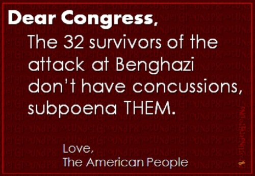 Subpoena the Benghazi survivors