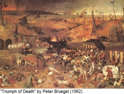 Triumph of Death by Peter Bruegel 1562
