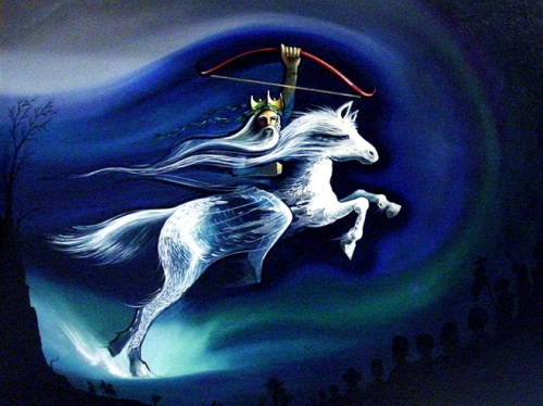 White Horse of the Apocalypse by Peter Olsen