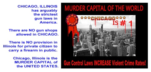 Guns - Chicago proves gun control fails to control gun crime