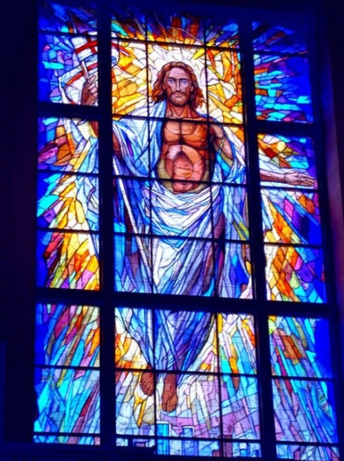 Houston Cathedral Stained Glass - Image from flickr