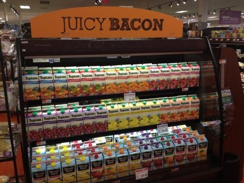 You had one job - bacon