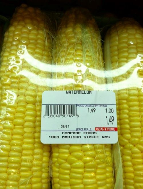 You had one job - corn