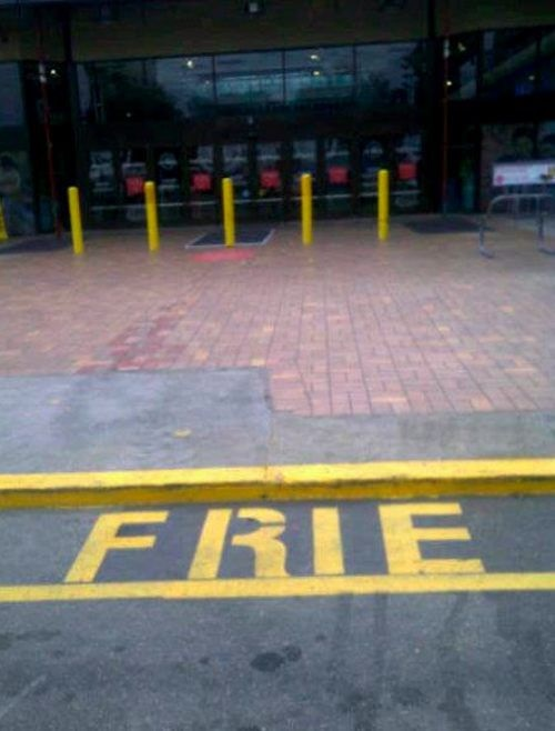You had one job - fire