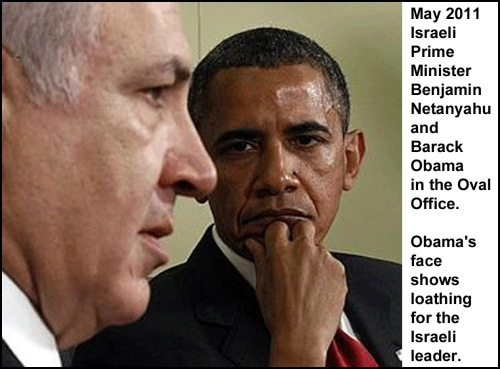 2011_05 26 Obama glares at Netanyahu