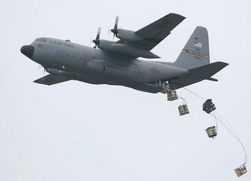 C-130 air drop