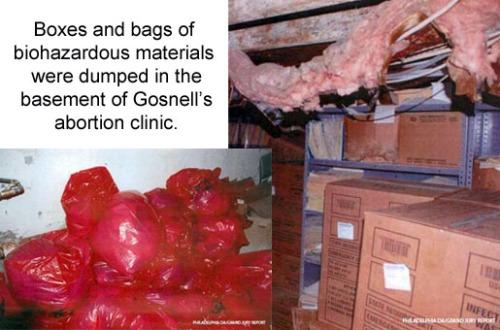 Gosnell waste