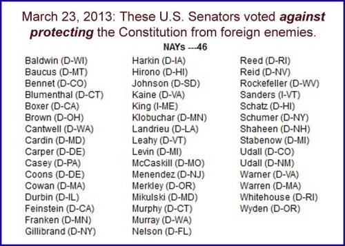 2013_03 23 The Senate Traitor List