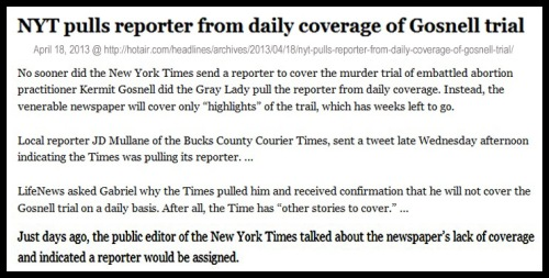 2013_04 18 NYT assigns then pulls reporter - Gosnell