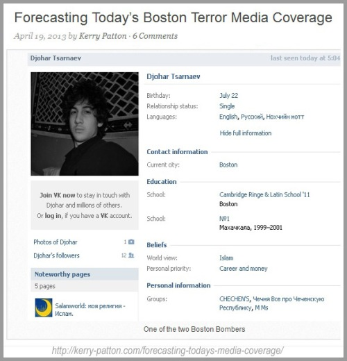 2013_04 19 Forecasting media coverage of bomber