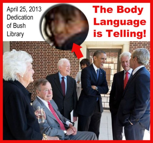2013_04 25 Body Language at Bush Library dedication