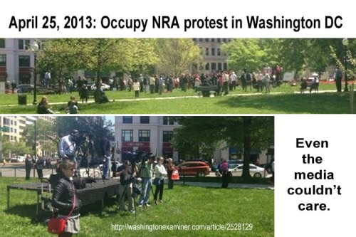2013_04 25 Occupy NRA protest in DC