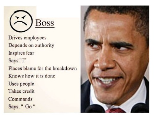 Bossy Obama
