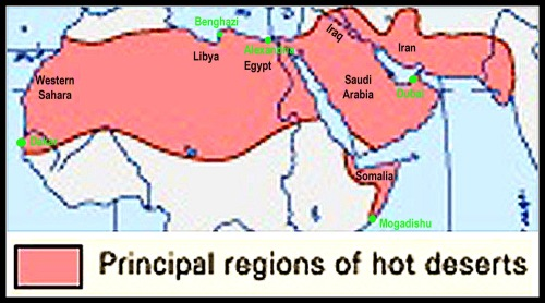 Deserts of the Middle East