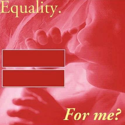 Equality for me