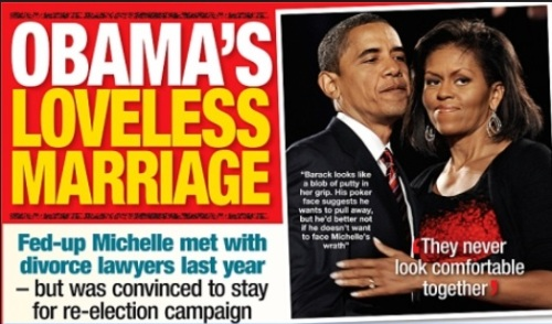 Obama's loveless marriage