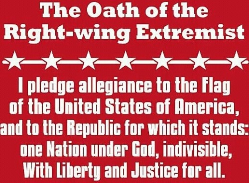 The Oath of the Right-wing Extremist