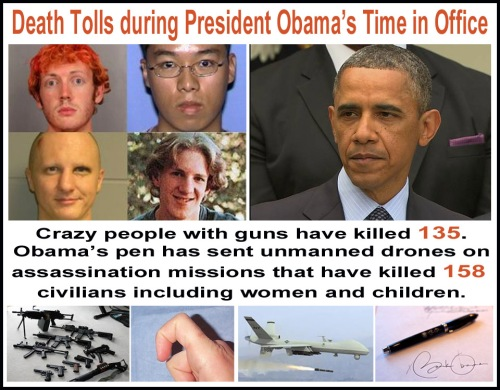 Triggers vs Obama's pen