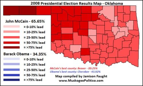 2008 OK voted McCain