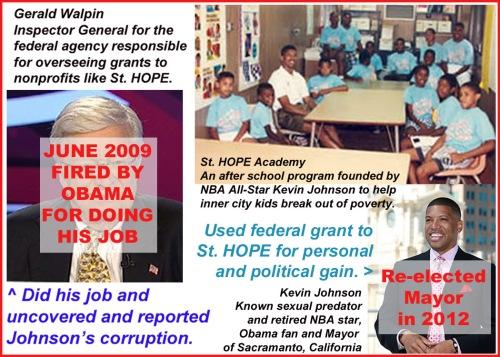 2009 Obama fired Walpin
